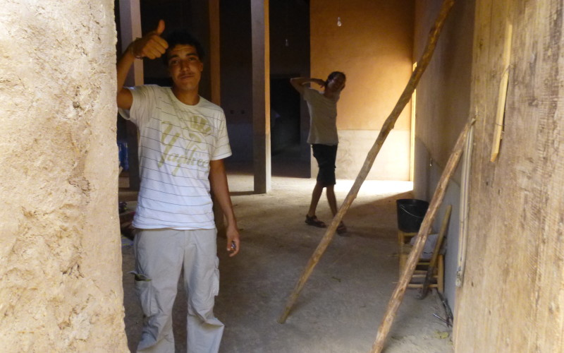 Worker Morocco Zagora