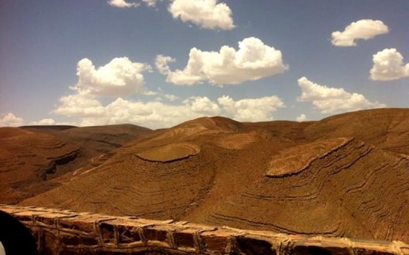 Weg zur Wüste