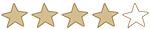 Rating 4 Sterne