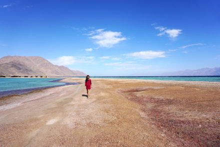 Blue Lagoon in Dahab